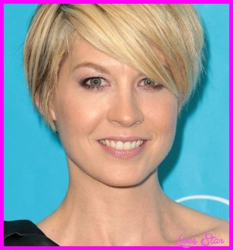 hairstyles for thin hair thin face short haircuts for round faces black livesstar com
