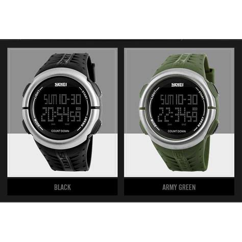 Skmei Jam Tangan Digital Pria Dg1246 skmei jam tangan digital sporty pria 1286 army green jakartanotebook