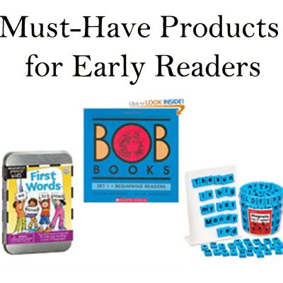 Parenting You Must Products For Busy by Must Products For Early Readers