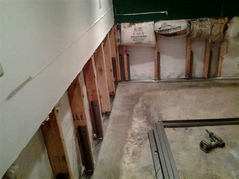 quality 1st basement quality 1st basement systems photo album flooded basement in kearny waterproofed by quality