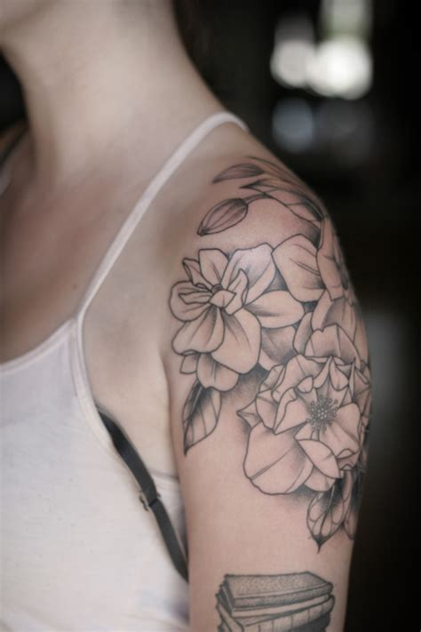 gardenia flower tattoo gardenia