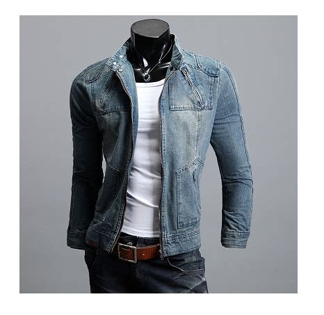 Jual Jaket Denim Custom jaket denim lelaki ariel noah coat denim jacket