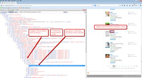 div id class build different xpath expressions for the same html element