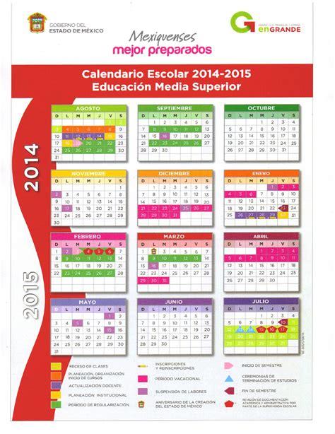 goorefrendo edo de mexico 2015 calendario escolar 2014 2015 educaci 243 n media superior by