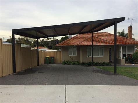 Carport Roof Designs by Skillion Roof Patios Skillion Carport Roof Great