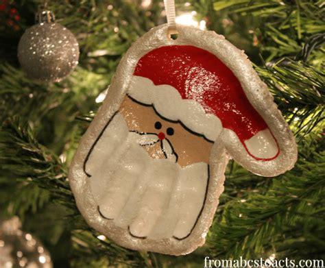 fingerprint  handprint christmas ornaments cutesy