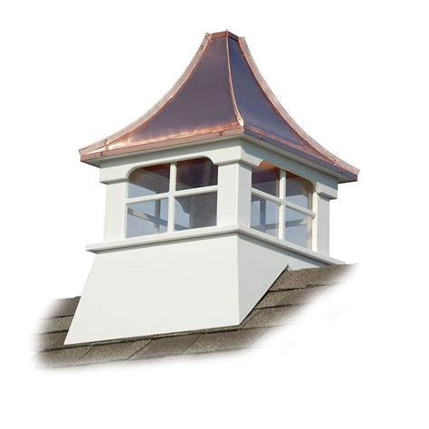 Roof Cupolas by Accentua Charleston 24 In X 24 In X 39 In Composite