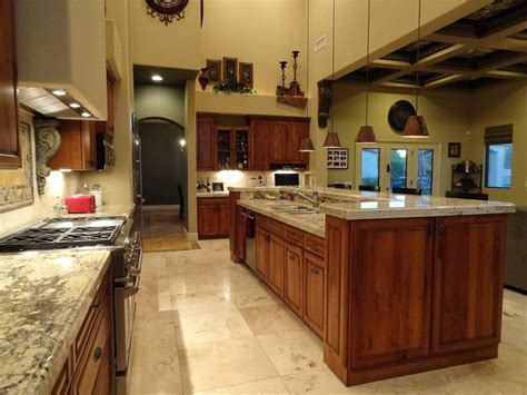 kitchen islands with bar kitchen family room 371 s equestrian ct