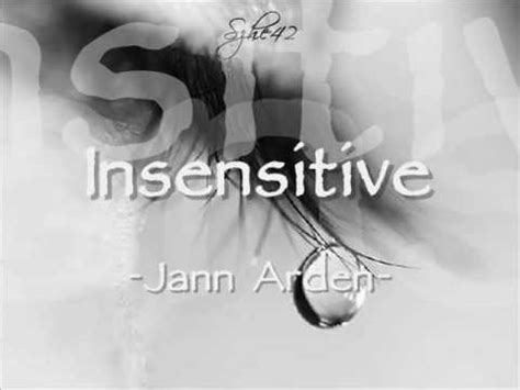 Less Insensitive Search Jann Arden Insensitive With Lyrics