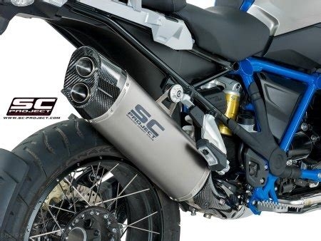 adventure exhaust  sc project bmw rgs