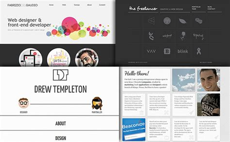 Online Designing Home Layout 60 clean and simple examples of portfolio design