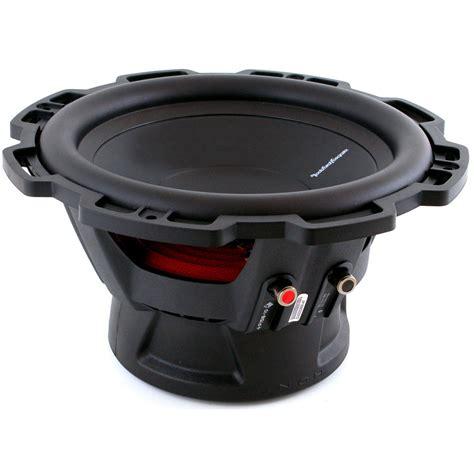 Subwoofer Rockford Fosgate Audio P1s4 12 Punch Single Coil rockford fosgate p1s4 12 11p1s412 12 quot 300w 4 ohm punch