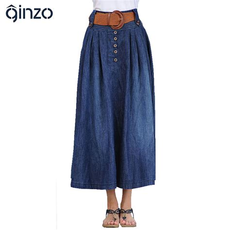 women s casual wide flare skirt lady s large size ankle
