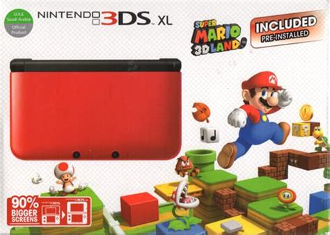 Nintendo 3ds Xl Mario 3d Land Original N3ds nintendo 3ds xl handheld system mario 3d land for 129 shipped