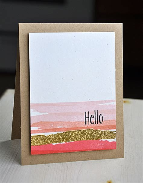 how to make watercolor greeting cards 25 best ideas about watercolor cards on easy