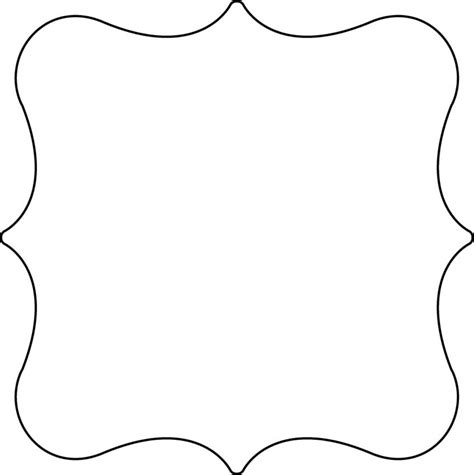 shaped templates image gallery shape templates
