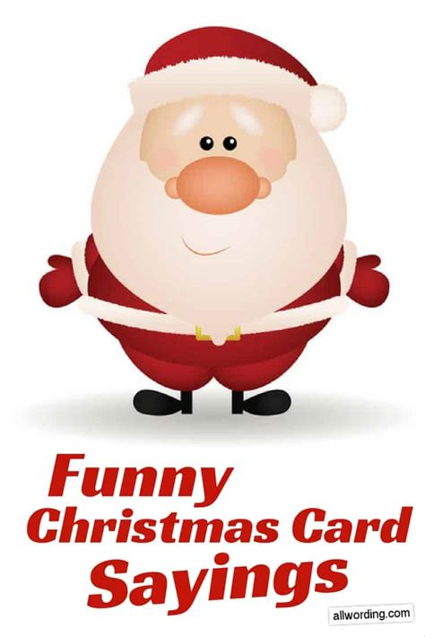 funny   write   christmas card allwordingcom