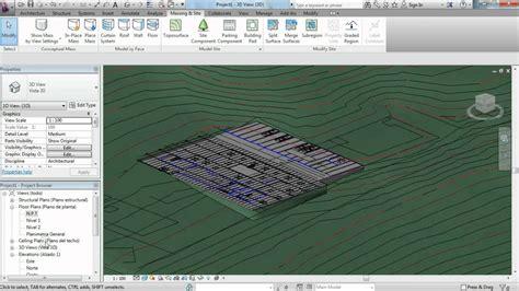 tutorial revit terreno como hacer una plataforma de construcci 243 n o building pad