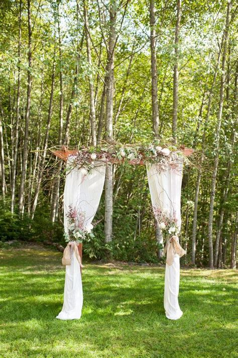 Wedding Arch Curtains by 17 Best Images About Wedding Arch On White