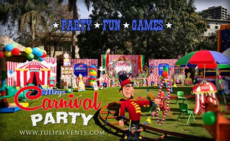 carnival themes ideas top 20 best boys party themes decor ideas in pakistan