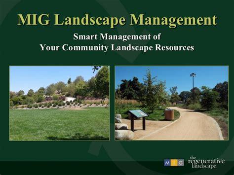 landscape management maintenance