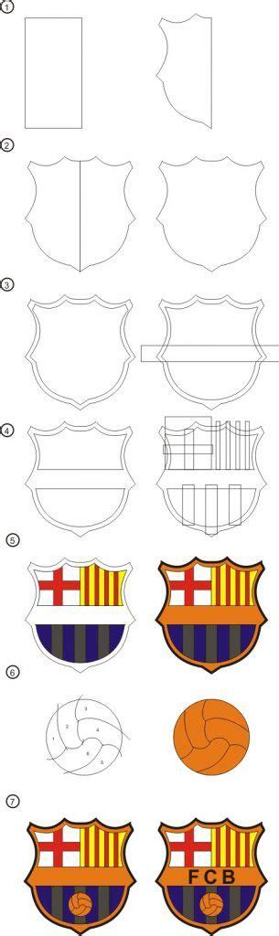 membuat logo real madrid dengan coreldraw cara membuat logo barca dengan corel draw x4 12 000