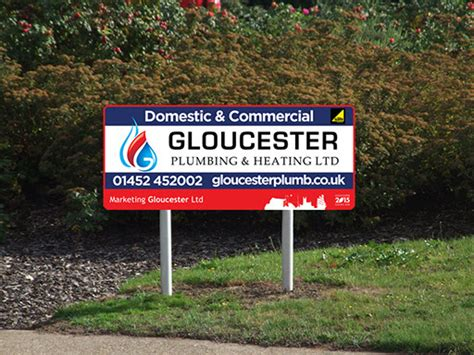 City Plumbing Gloucester by Gloucester City Roundabout Sponsorship Traffic Site