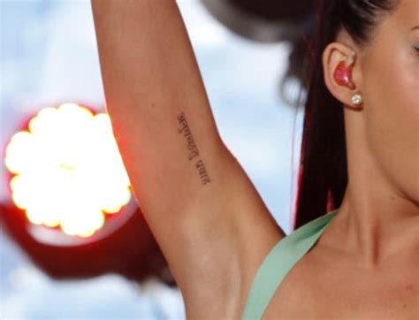 Katy Perry Hebrew Tattoo | quotes by katy perry tattoos quotesgram