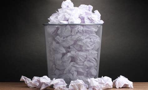 recyclage papier de bureau r 233 duire l impact de la consommation de papier des entreprises