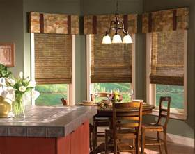 kitchen window coverings ideas the ideas of kitchen bay window treatments theydesign