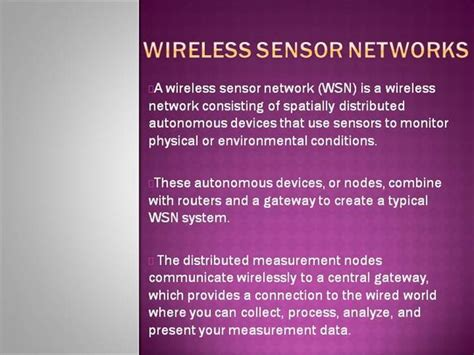 ppt templates for wsn wireless sensor networks authorstream
