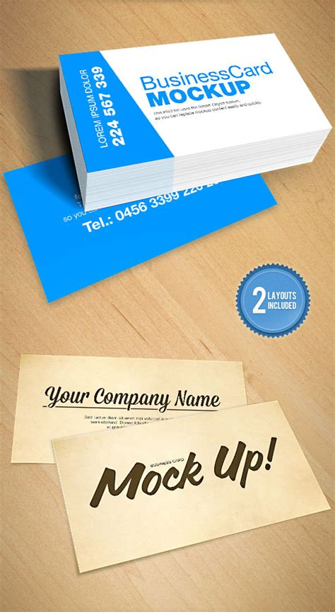 card design mockup 20 professional free business card templates and mockups