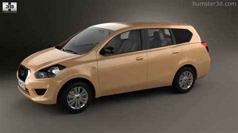 datsun go plus 2014 by 3d model store humster3d