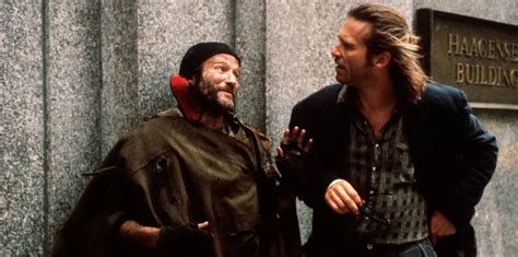 The Fisher King | with the fisher king robin williams shrugged off the