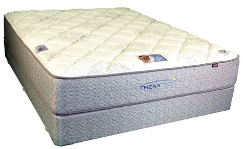 Original Mattress Factory Locations by Therapedic Backsense Plush Mattress