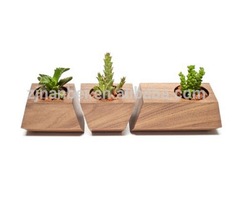Decorative Planter Boxes by Custom Modern Decorative Wooden Planter Box Small Wood