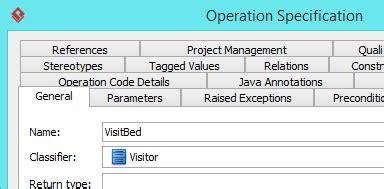 visitor pattern naming visitor pattern tutorial