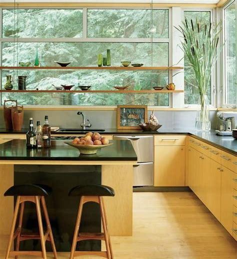 kitchen window shelf ideas open kitchen shelves and stationary window decorating