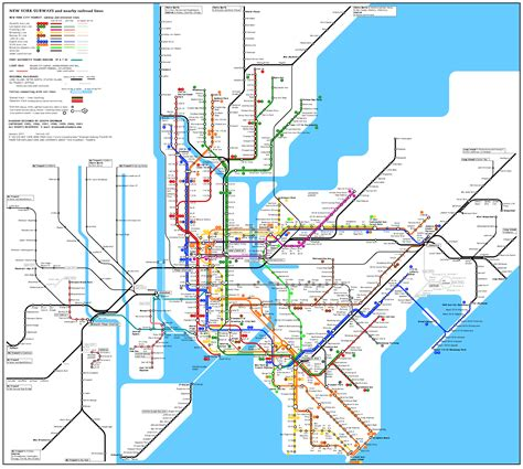 New York Subway Map Pdf by Subway Map Eps Pdf Qbn