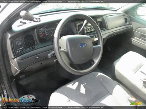 Ford Interceptor Interior by Charcoal Black Interior 2007 Ford Crown