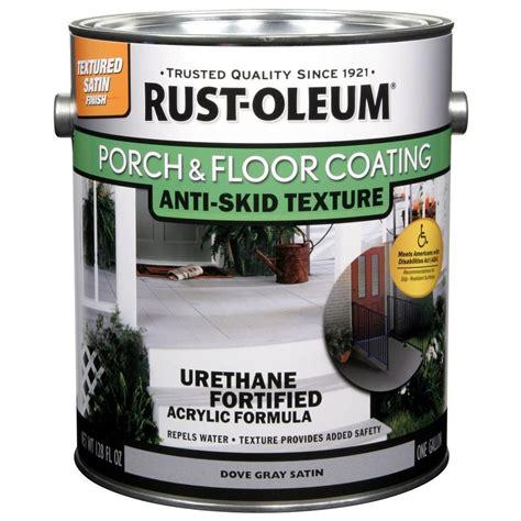 rust oleum porch  floor  gal dove gray anti skid