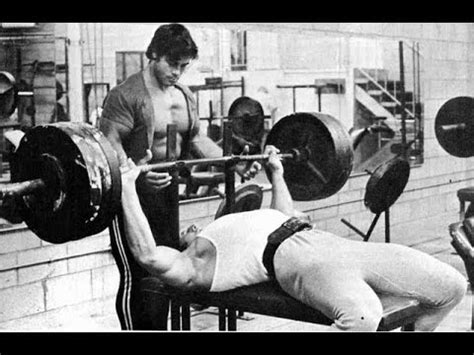 old bench press rcf how to do franco columbu bench press youtube