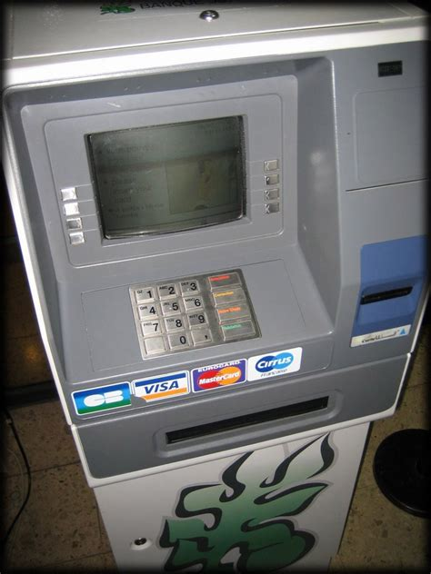 bank atm machine interface design