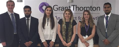 New Trainees 2 by Six New Trainees At Grant Thornton In Leicester East