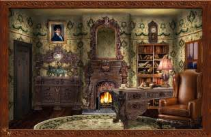 Victorian Home Decor For Sale by Victorian Study By Ookamikasumi On Deviantart