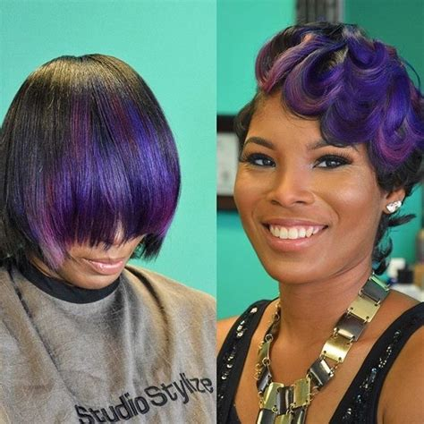voice of hair 10 ways to wear purple hair flawlessly voice of hair