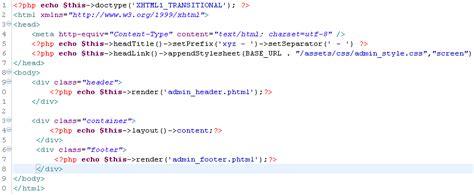 zend layout partial zend framework 1 11 css not rendering for header phtml