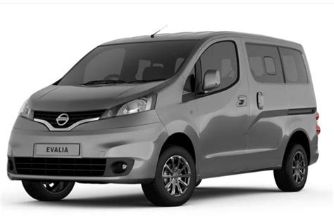 nv 2000 nissan price new nissan evalia launched at rs 8 78 lakh ex delhi