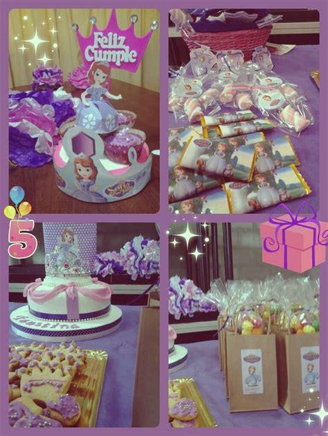 adornos de sofia cumplea 241 os birthday princesa princess sofia hecho por mi