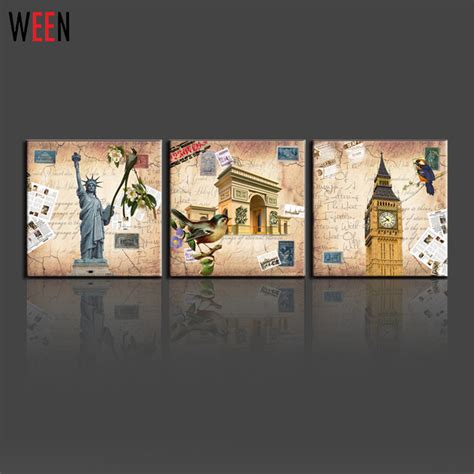 american home decorators home decor american style 3 panels wall canvas printing